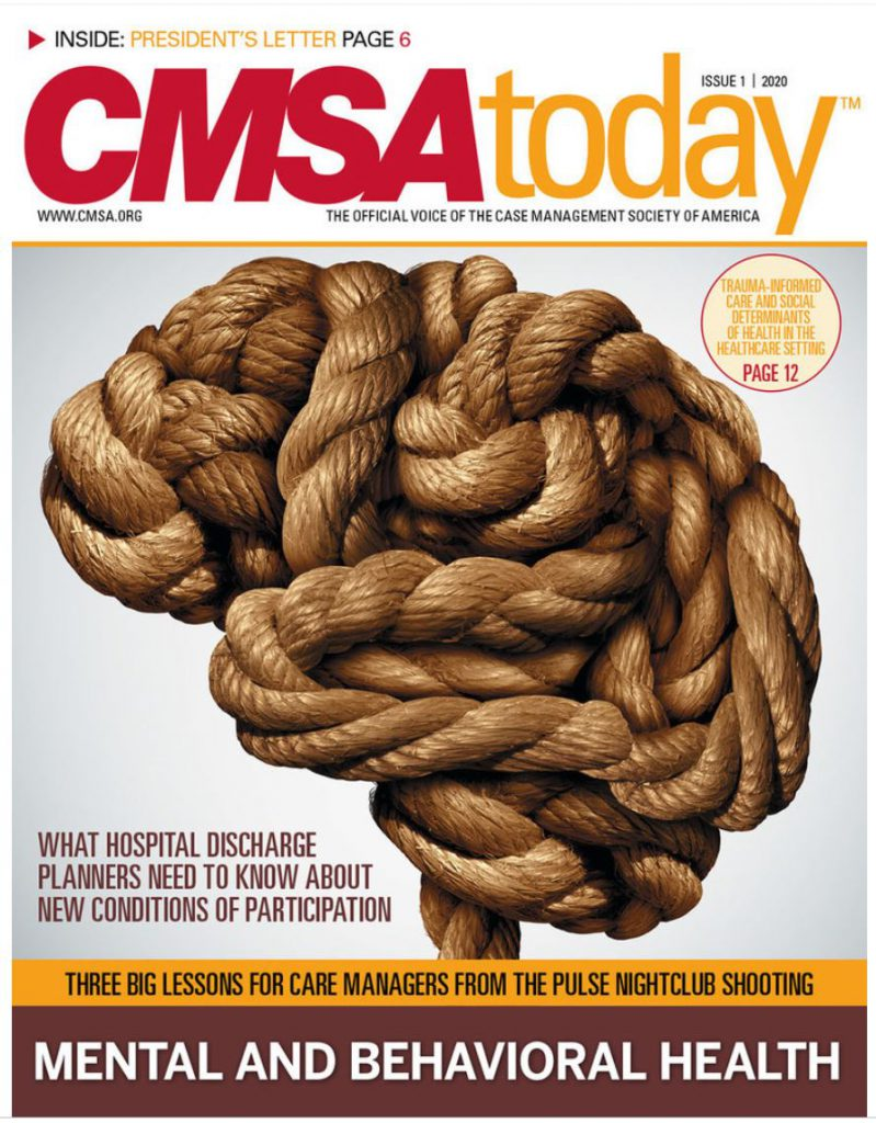 CMSA Today Issue 1, 2020